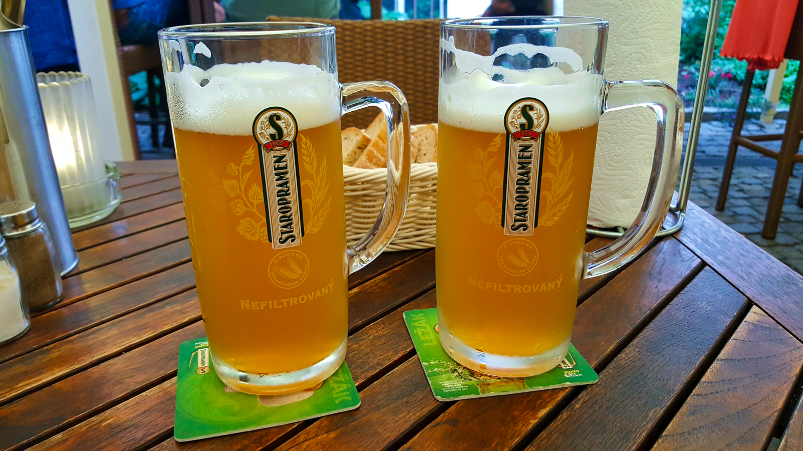 Staropramen beer in Prague