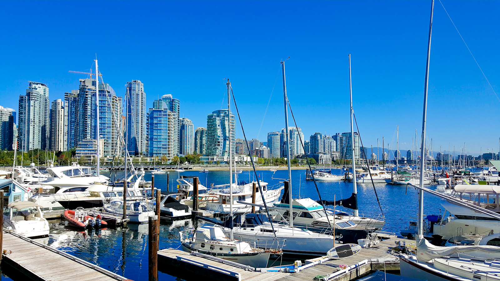 Yaletown from Granville Island