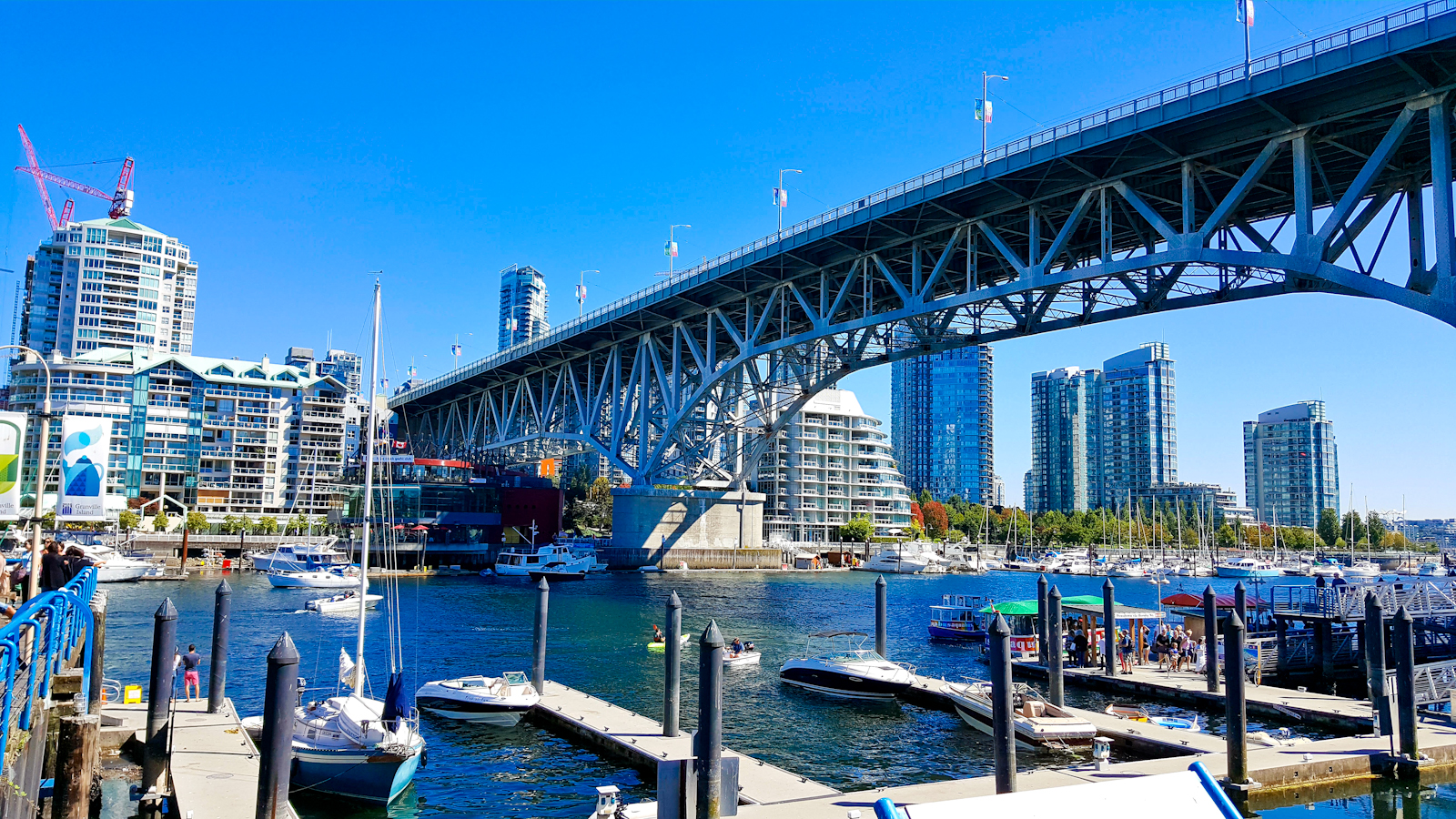 View of Yaletown from Granville Island