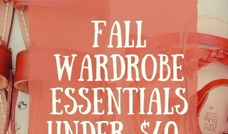 Fall Wardrobe Essential Pieces