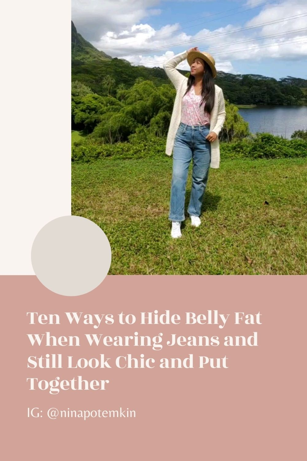 Ten Ways to Hide Belly Fat When Wearing Jeans
