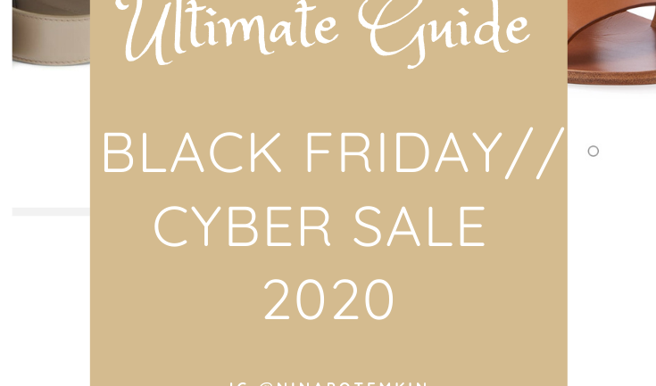The Ultimate Guide on Black Friday // Cyber Sale 2020